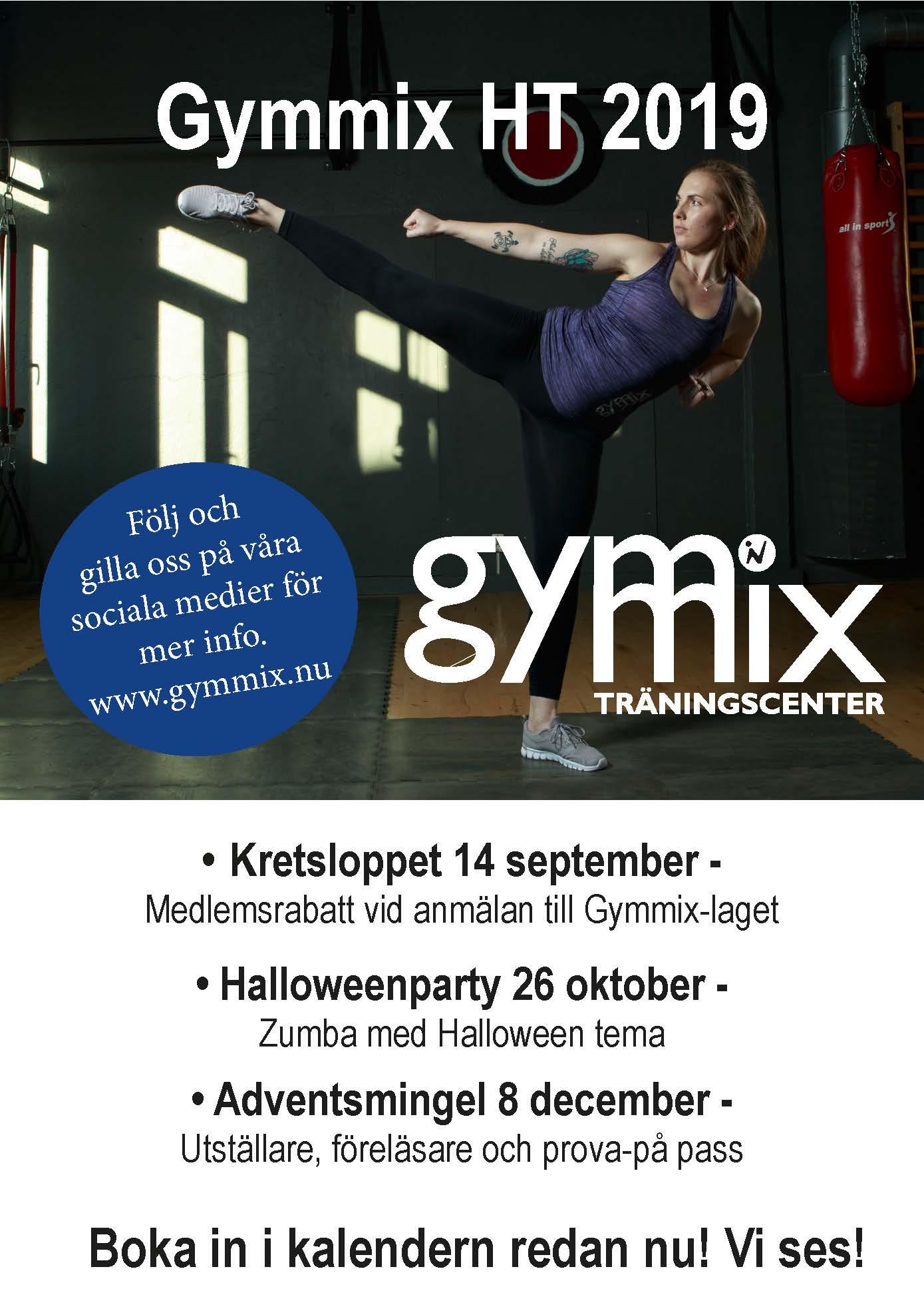 Gymmix aktiviteter HT 2019
